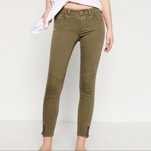 Zara Moto Jeans in Gray**